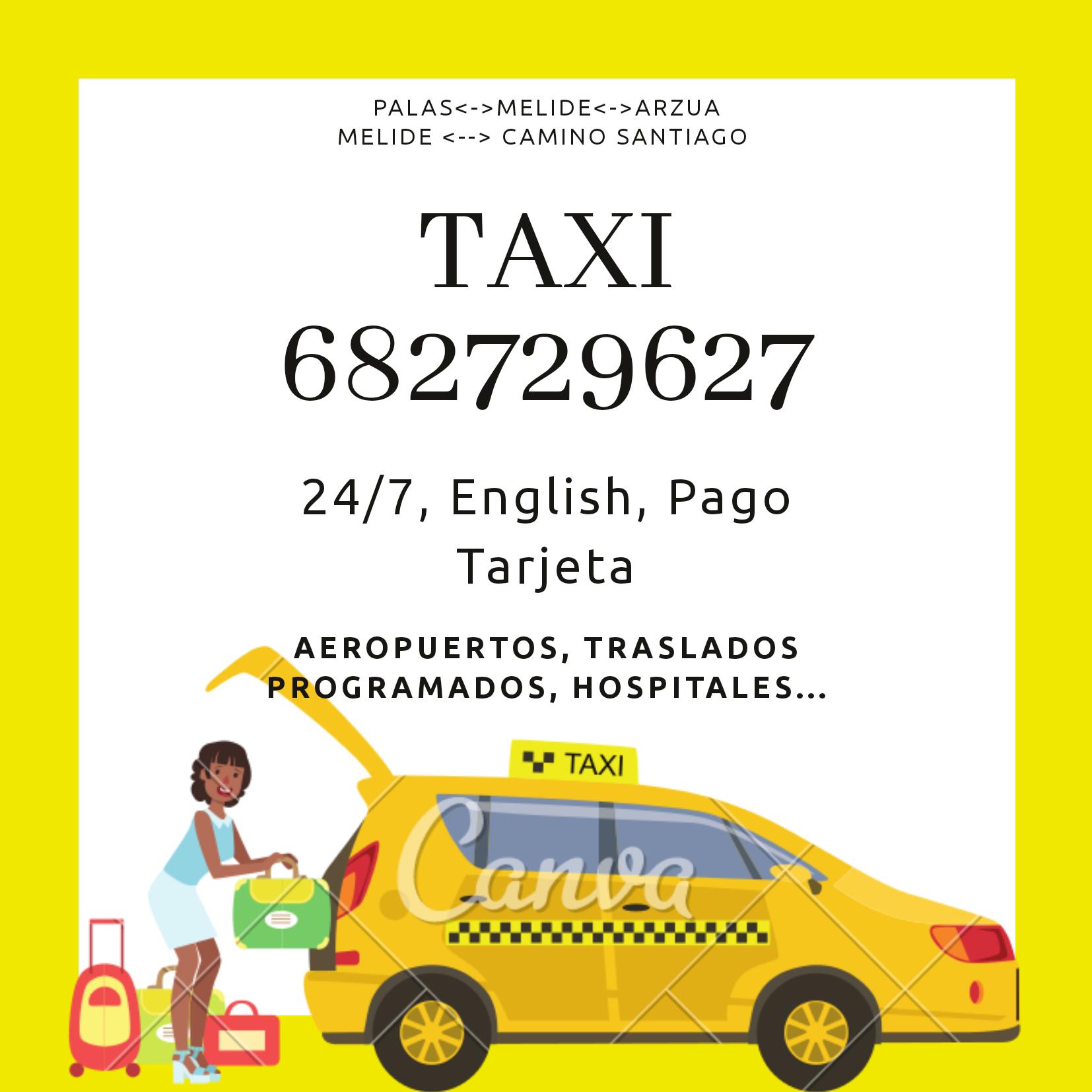 Taxi 24 Horas Melide (Taxi Vicente)