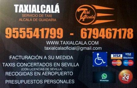 Taxi 24 Horas Alcalá de Guadaira