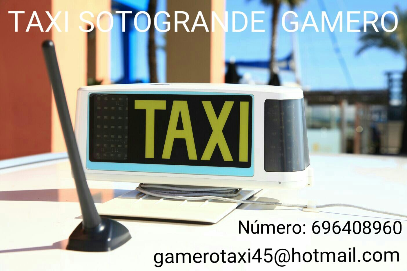 Taxi 24 Horas Sotogrande (Taxi Gamero)