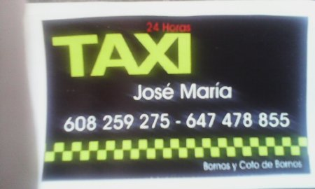 Taxi 24 Horas Bornos (Taxi José María)