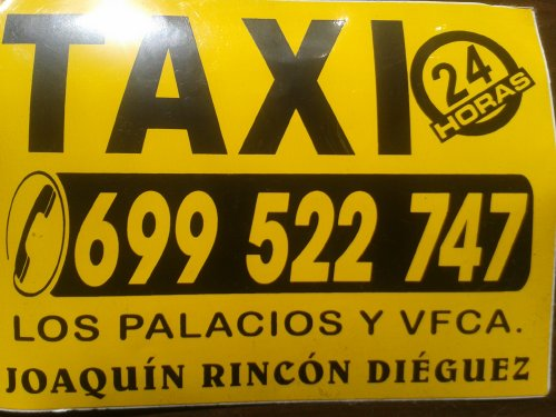 Taxi 24 Horas Los Palacios y Villafranca (Taxi Joaquin)