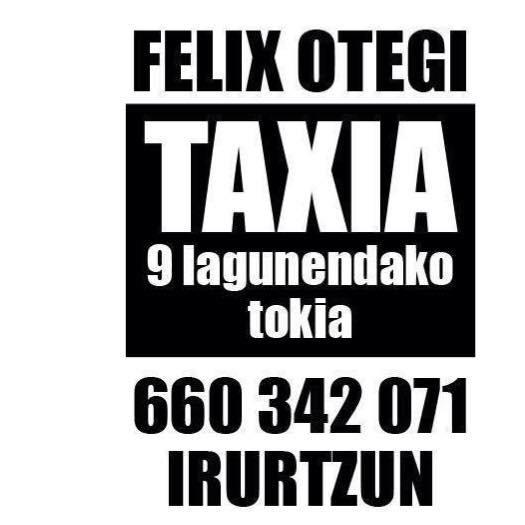 Taxi 24 Horas Felix Otegi (Irurtzun) Navarra