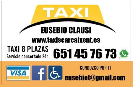 Taxi 24 Horas Carcaixent (Euro Taxi Eusebio)